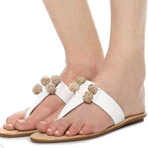 Loeffler Randall - Sosie Pom Pom Thong Sandals